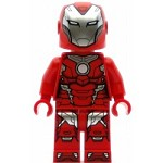 LEGO Super Heroes Minifigure Rescue Pepper Potts Red Armor