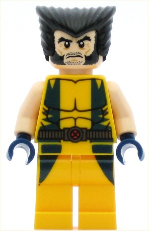 LEGO Minifigure Super Heroes Wolverine