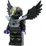 LEGO Legends of Chima Minifigure Rawzom Flat Silver Armor