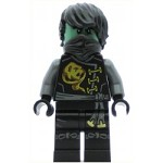 LEGO Ninjago Minfigure Cole - Skybound, Ghost, Hair (70593)