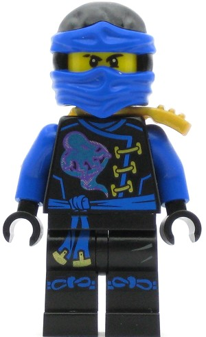 LEGO Ninjago Minifigure Jay - Skybound, Dual Sided Head (70594)