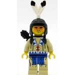LEGO Minifigure Indian Tan Shirt Quiver