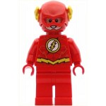 LEGO Super Heroes Minifigure The Flash - Gold Outlines on Chest (76098)