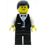 LEGO Minifigure Town Vest Formal Waiter