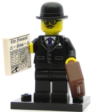 LEGO Collectible Minifigures Series 8 Businessman
