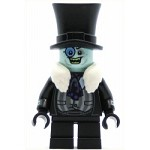 LEGO Super Heroes Minifigure The Penguin - White Fur Collar