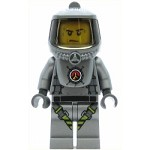 LEGO Town Minfigure Volcano Explorer - Male Scientist with Heatsuit, Sweat Drops