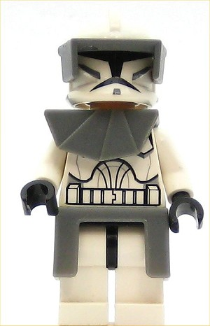 LEGO Star Wars Minifigure Clone Trooper Clone Wars with Armor