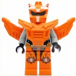 LEGO Space Minifigure Orange Robot Sidekick
