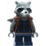 LEGO Super Heroes Minifigure Rocket Raccoon - Dark Blue Outfit