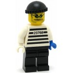 LEGO Minifigure Xtreme Stunts Brickster with Black Cap Knit