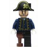 LEGO Pirates of the Caribbean Minifigure Hector Barbossa with Pegleg