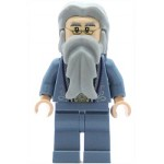 LEGO Harry Potter Minifigure Dumbledore Sand Blue Outfit with Silver Embroidery