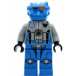 LEGO Space Minifigure Dark Azure Robot Sidekick