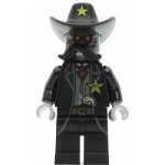 LEGO The Lego Movie Minifigure Sheriff Not-a-robot