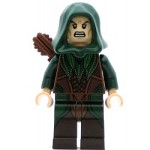 LEGO Hobbit and Lord of the Rings Minifigure Mirkwood Elf Archer Dark Green Outfit