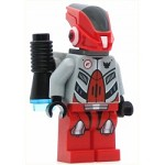 LEGO Space Minifigure Red Robot Sidekick with Jet Pack