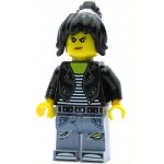 LEGO The LEGO Ninjago Movie Minfigure Nya - Leather Jacket and Jeans High School Outfit (70607)
