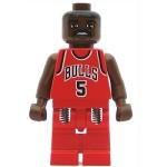 LEGO Minifigure NBA Jalen Rose Chicago Bulls #5