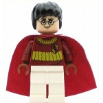 LEGO Harry Potter Minifigure Harry Potter Dark Red Quidditch Uniform