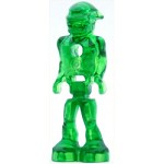LEGO Space Minifigure Mars Mission Alien with Marbled Glow In Dark Torso