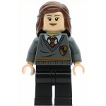 LEGO Harry Potter Minifigure Hermione Gryffindor Stripe and Shield Torso Black Legs