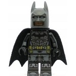 LEGO Super Heroes Minifigure Batman Pearl Dark Gray Armor