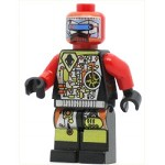 LEGO Minifigure UFO Droid Red