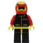 LEGO Town Minifigure Extreme Team Red