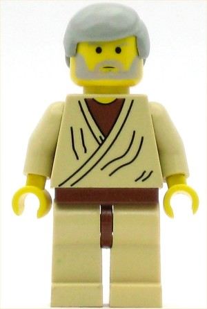 LEGO Star Wars Minifigure Obi-Wan Kenobi Old