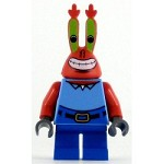 LEGO SpongeBob SquarePants Minifigure Mr. Krabs Large Grin