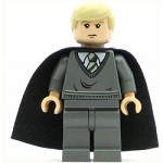 LEGO Minifigure Draco Malfoy Dark Bluish Gray Sweater Cape