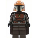 LEGO Star Wars Minifigure Mandalorian Warrior - Male, Dark Brown