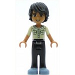 LEGO Friends Minifigure Friends Matthew, Black Trousers, Khaki Shirt (41100)