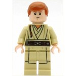 LEGO Star Wars Minfigure Obi-Wan Kenobi - Young, Printed Legs, without Cape (75169)