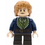 LEGO The Hobbit and the Lord of the Rings Minifigure Bilbo Baggins - Dark Blue Coat (79018)