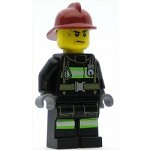 LEGO Town Minifigure Fire Reflective Stripes with Utility Belt