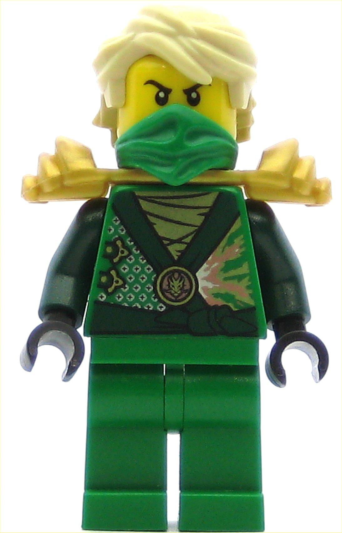 LEGO Ninjago Minifigure Lloyd Rebooted with Gold Armor
