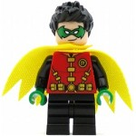 LEGO Super Heroes Minifigure Robin - Green Mask and Hands
