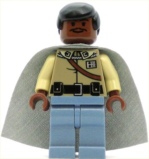 LEGO Star Wars Minifigure Lando Calrissian General Outfit