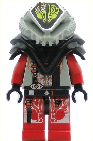 LEGO Minifigure UFO Alien Red
