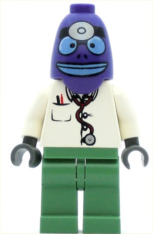 LEGO Minifigure Doctor with chest pocket