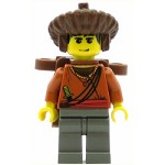 LEGO Adventurers Minifigure Sherpa Sangye Dorje with Backpack