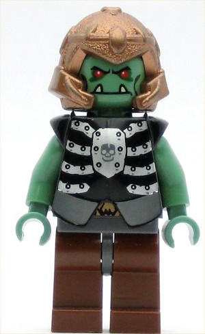 LEGO Castle Minifigure Castle Fantasy Era Troll Warrior 4