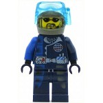 LEGO Alpha Team Minifigure Charge Mission Deep Sea
