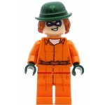 LEGO Super Heroes Minifigure The Riddler Prison Jumpsuit