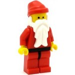 LEGO Holiday Minifigure Santa Red Legs with Black Hips