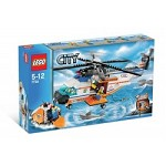 LEGO 7738 City Coast Guard Helicopter & Life Raft