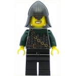 LEGO Minifigure Kingdoms Dragon Knight Scale Mail with Chain and Belt Helmet with Neck Protector Bared Teeth