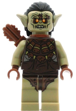 LEGO Hobbit and Lord of the Rings Minifigure Hunter Orc with Quiver